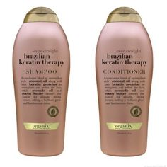 Organix Ever StraightBrazilian Keratin Therapy Shampoo Salon Size 254 Ounce and Organix Ever StraightBrazilian Keratin Therapy Conditioner Salon Size 254 Ounce -- See this great product.(This is an Amazon affiliate link and I receive a commission for the sales)