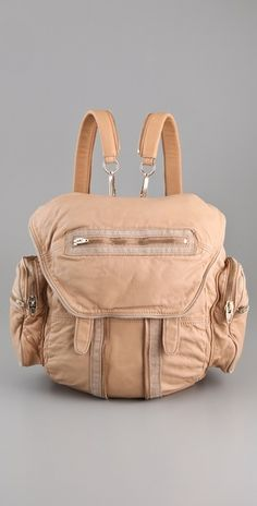 Most perfect little leather backpack in the world - Alexander Wang