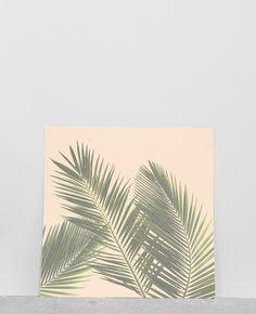 Affiche palmiers - Une jolie affiche à encadrer, accrocher ou poser sur un meuble pour ...