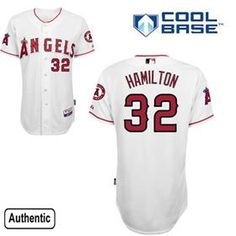 Josh Hamilton Jersey Featuring The Los Angeles Angels of Anaheim MLB Home  White Styele.Buy 2fd239d17