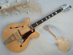 ARTUR LANG Thinbody Guitar TOP ViNTAGE Gitarre RARE   eBay
