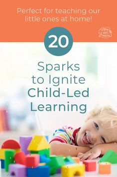 FREE eBook for Homeschoolers! 20 sparks to ginite child-led learning. If you are new to homeschooling, this free resource is perfect for preschoolers and children in kindergarten. This is how to get children engaged in learning and leading their own learning. 20 hands on, no-prep ideas for you. Preschool Craft Activities, Educational Activities For Preschoolers, Preschool Art Projects, Preschool At Home, Engage In Learning, Deep Learning, Fun Learning, Kindergarten Curriculum, Kids And Parenting