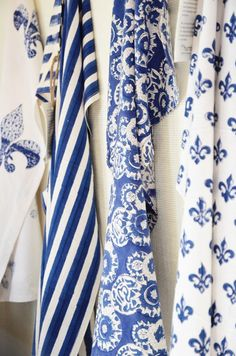 Ana Rosa ~ Blue and White