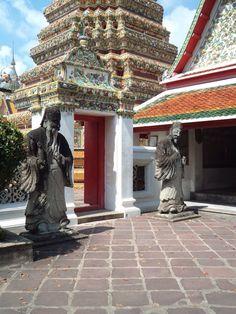 Wat Pho Courtyard, Bangkok