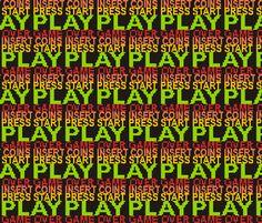 8-bit Play fabric by smuk on Spoonflower - custom fabric