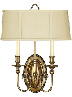 Federal style sconce is a little less ornate than more traditional French styles.