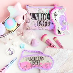 It looks really cute with the unicorn stuff on it