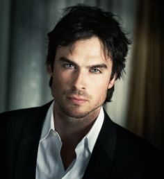 Ian Somerhalder.  Damn that man is hot.
