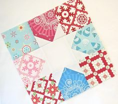 Christmas Tree Pants sew-along - Day 1 by Happy Zombie, via Flickr