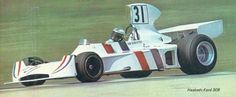 Ian Scheckter trying to qualify for the 1974 Austrian GP in the Hesketh Formula 1, Westerns, Automobile, F1 Drivers, Grand Prix, Race Cars, Ford, Racing, Sports