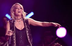 Carrie Underwood Shows Some Serious Leg at the CMA Music Festival