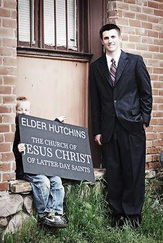 LDS Missionary Badge sign. $12.00, via Etsy.  #MormonFavorites #LDSquotes #GeneralConference