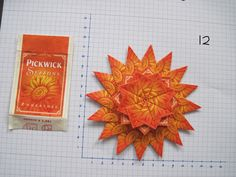 3 laags gemaakt van 32 theezakjes Pickwick zomerthee