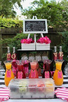 Wedding Drink bar wedding idea for summer wedding #wedding #weddingideas #summerwedding #weddingdrinks