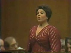 "Marilyn Horne sings ""Mura felici"" from Rossini's La Donna del Lago New York City Opera Orchestra Conducted by Richard Bonynge Lincoln Center 1981 #opera"