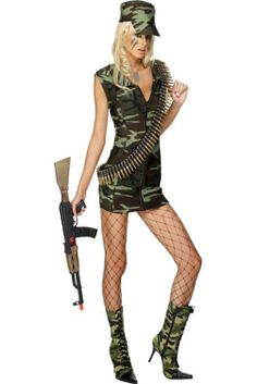 Disfraz de militar sexy #coteseduction.com #carnaval2014