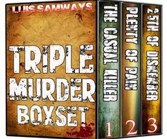 Triple Murder Boxset (Three Thrilling Reads!) by Luis Samways http://www.amazon.com/dp/B00IAXLIBE/ref=cm_sw_r_pi_dp_y.UWvb1ZSKAF0