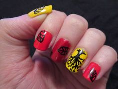 Be brave nail art blog divergent and divergent nails bizarre obsessions divergent nail series amity prinsesfo Image collections