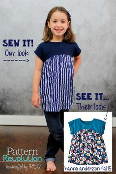 Knock it off! Rachel shares her monthly See it, Sew it, Share it post featuring a free pattern from Climbing the Willow.