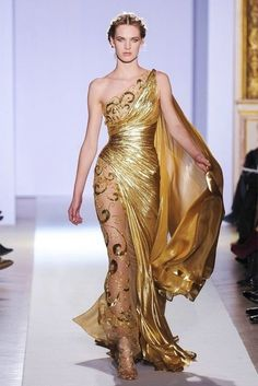 What Would Khaleesi Wear?Zuhair Murad Spring 2013; Dragons gold