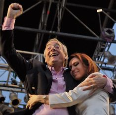 Cristina Fernández of Kirchner and Néstor Kirchner, both were presidentes de Argentina, both pisceans. Cristina Fernandez, Nestor Kirchner, Rock And Roll, Popular, People, Fictional Characters, Inspiration, Collection, Women