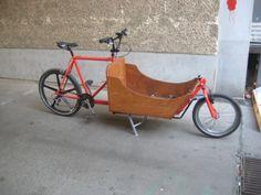 bisher von André gebautes Rad