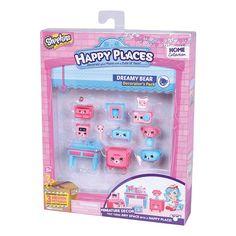 Amazon.com: Shopkins Happy Places Decorator Pack Dreamy Bear: Toys & Games