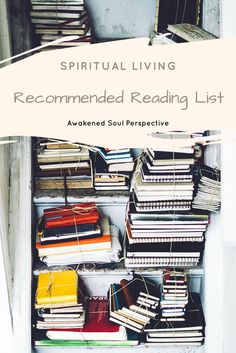 Spiritual Reading List