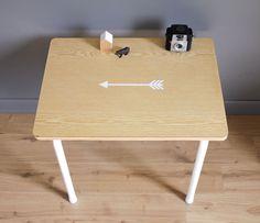 Petit bureau de maternelle vintage leshappyvintage.fr