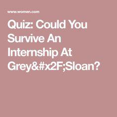 Quiz: Could You Survive An Internship At Grey/Sloan?