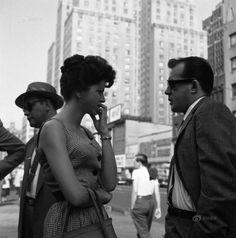 Vivian Maier, New York (Man and Woman on Street), 1959