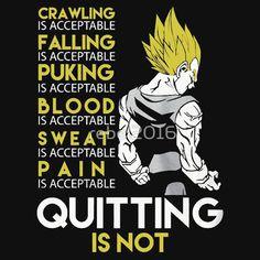 Never Quit - Vegeta