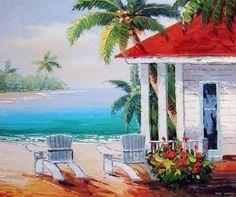 Key West House 27 Original Fine Art Painting keROBinson | Key west ...