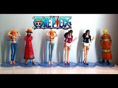 One Piece Figures Set 6pcs