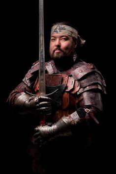 SWORD PLAY - A Photo Series by Mark Feenstra [Aijan warrior in my WIP Safia]