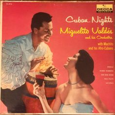 Miguelito Valdes And His Orchestra* With Machito & His Afro-Cubans - Cuban Nights (Vinyl, LP) at Discogs