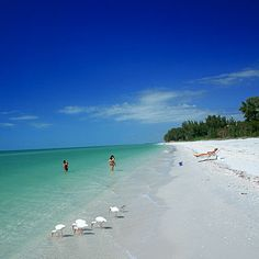 North-End Beach CAPTIVA, FLORIDA Sublime beachcombing and near-perfect swimming conditions lure people to North-End, but it's those lingering sunsets that clinch the deal here. Hotel Recommendation: Bunk at the nearby South Seas Island Resort. Sanibel Island, North Captiva Island, Captiva Beach, Captiva Florida, Playa Beach, Florida Beaches, Florida Springs, Miami Beach, Vacation Places