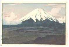 Mt.Fuji from Yamanaka - by Yoshida Hiroshi