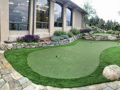 72779f093203 A ProGreen s putting green turf system makes practicing your short game  much easier and convenient. Learn more about having your own backyard green!