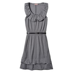 Mossimo Supply Co. Juniors Ruffle Skater Dress w/ Belt - Assorted $18.00