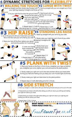 6 Dynamic Stretches For Flexibility
