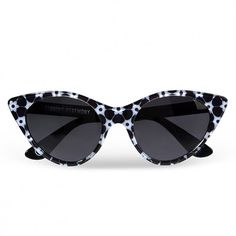 Cat eye sunglasses con fiori di Opening Ceremony