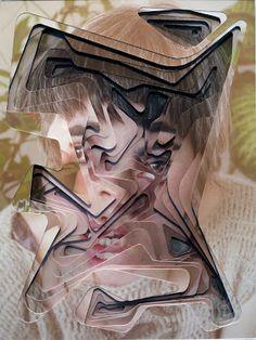 CAN U KEEP A SECRET?  I collage di Lucas Simones, classe 1980  raccontano le emozioni e i pensieri di amici e persone con cui stringe legami.  Il suo processo creativo e artistico,  nasce da un incontro privato, da una conversazione intima  poi Lucas scatta un numero di fotografie,  le decompone e le ricostruisce, seguendo una logica compositiva emozionale.