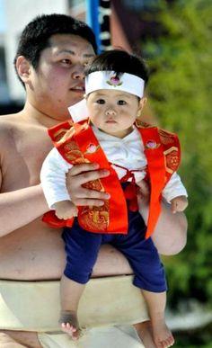 Japan-People-baby sumo