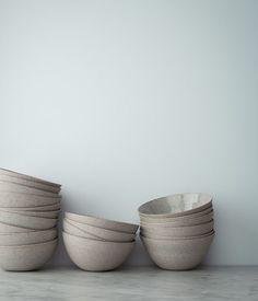 herriott grace — stoneware and porcelain bowls by sue paraskeva.