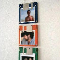Reusar diskettes para poner Fotos