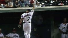 MLB (9/11/1997): Iván Rodríguez's (Texas Rangers) 17th, 18th, and 19th Home Runs of 1997 Season @ Hubert H. Humphrey Metrodome, Minnesota Twins. (Video)