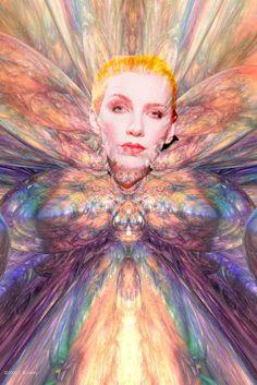Annie Lennox Photoshop ny Marlena De Fabrizio