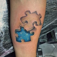 3d Puzzle Piece Tattoos