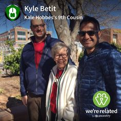 2/3rds proven, but still sounds fun; Conference in Edmonton would be a family reunion!  How does your side measure up, Cousin? Kyle Betit